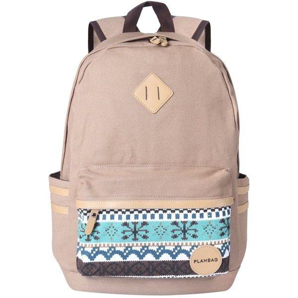 Plambag Causal Style Lightweight Canvas Cute Backpacks School ...