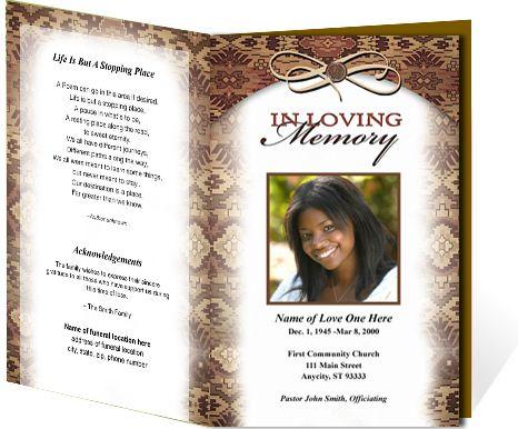 Messenger Funeral Program Template Funeral Program Template Funeral Program Template Free Funeral Programs