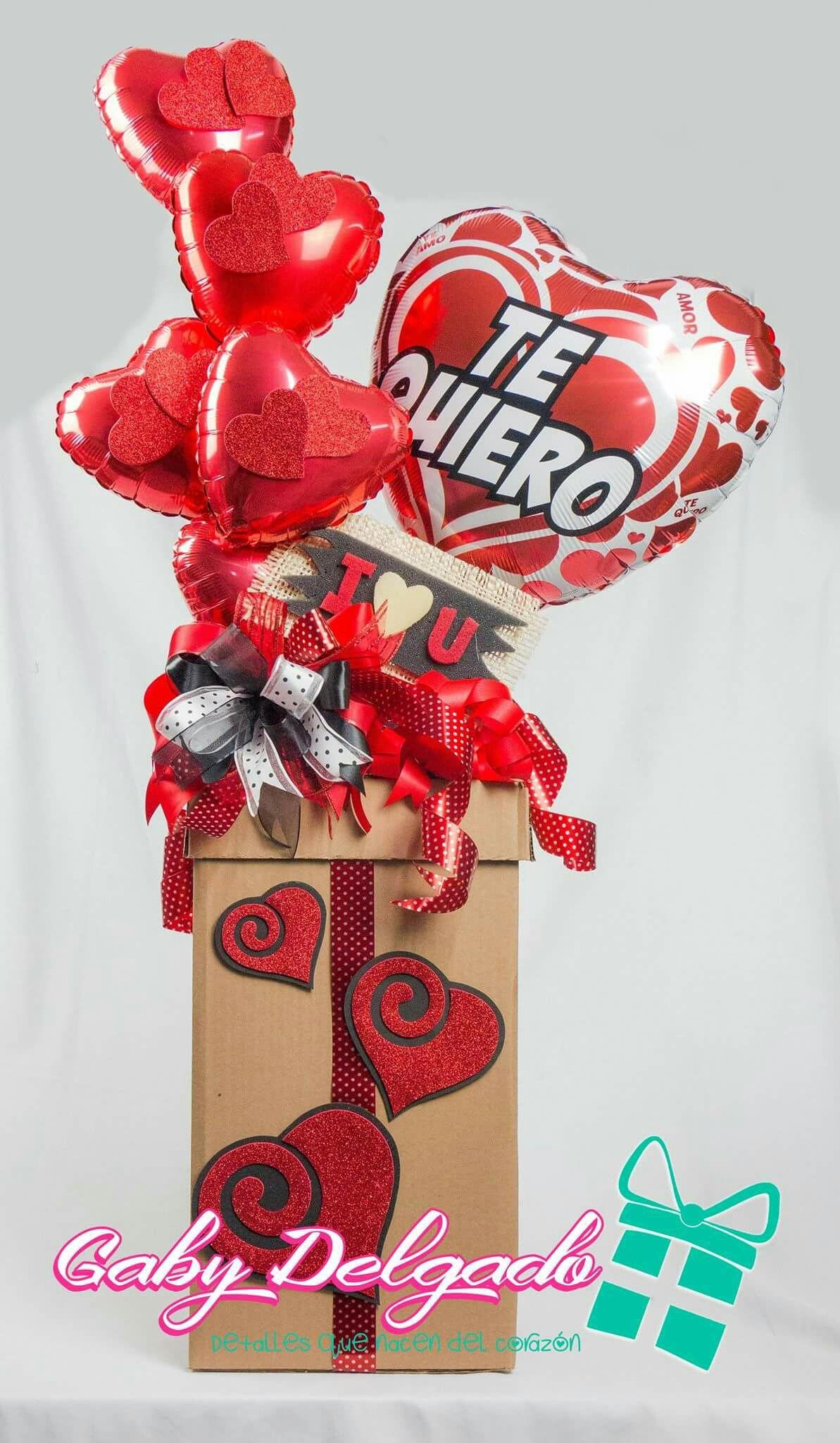 Amor En El De 14 Y Caja Febrero De Para La Dia Del Arreglos Amistad De Madera Febrero 14