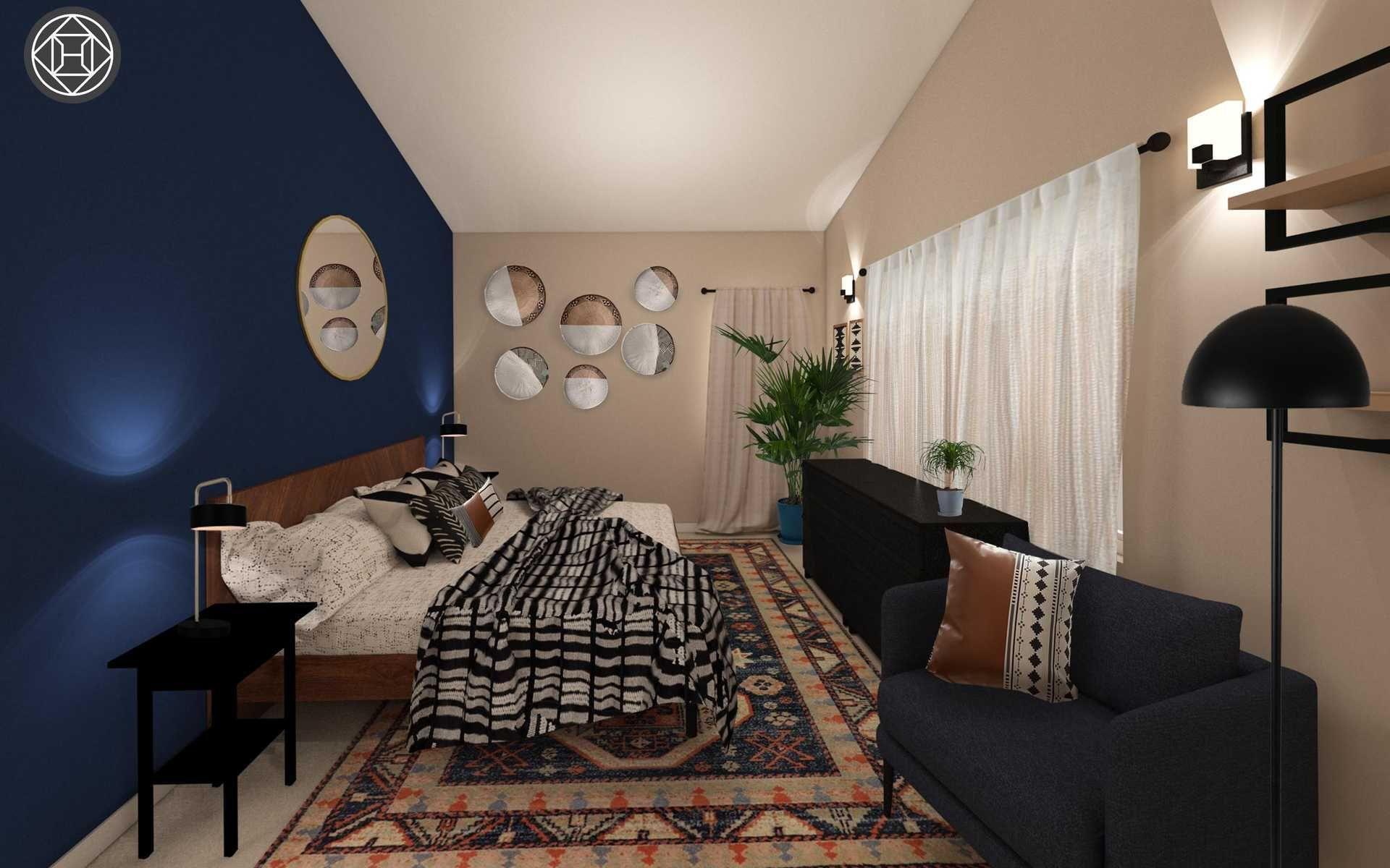 Contemporary Bohemian Midcentury Modern Bedroom Design By Havenly Interior Designer Sharon Modern Room Design Modern Bedroom Design Interior Design