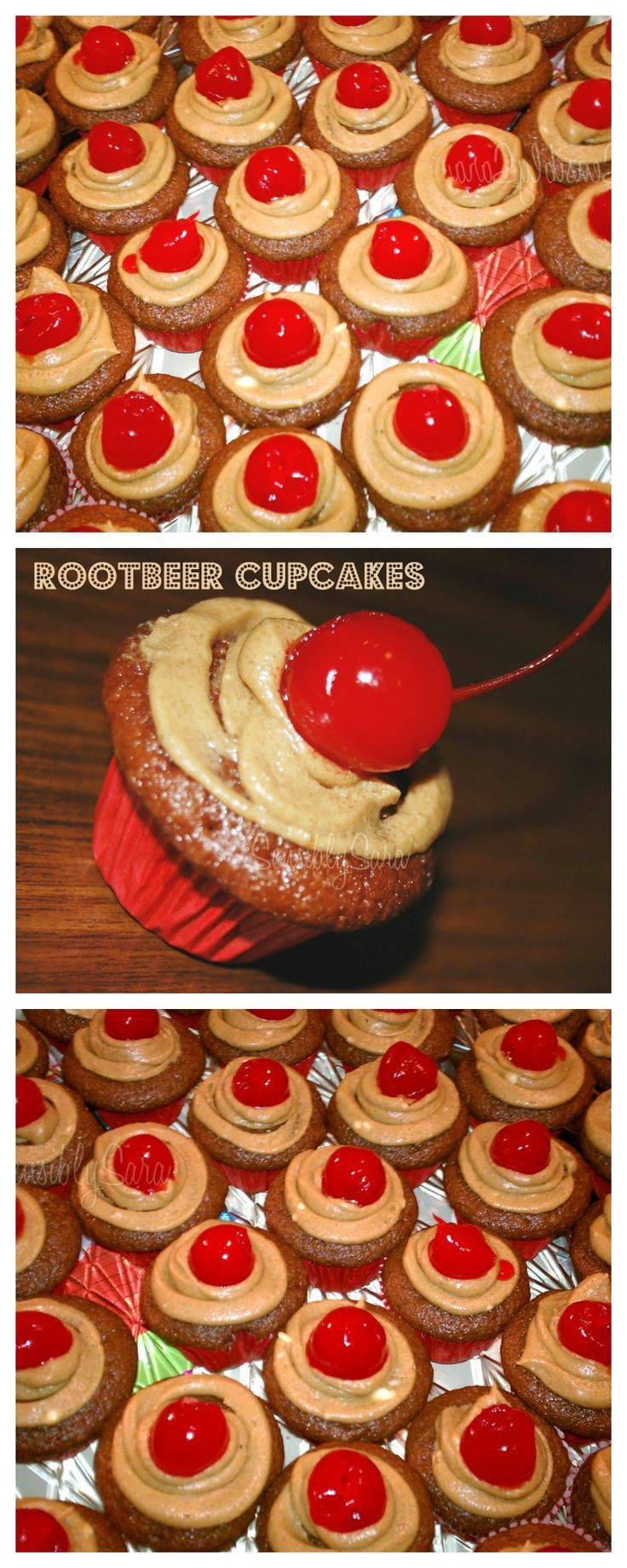 Root beer cupcake recipe. Enjoy the flavor of your favorite beverage as a dessert recipe instead!