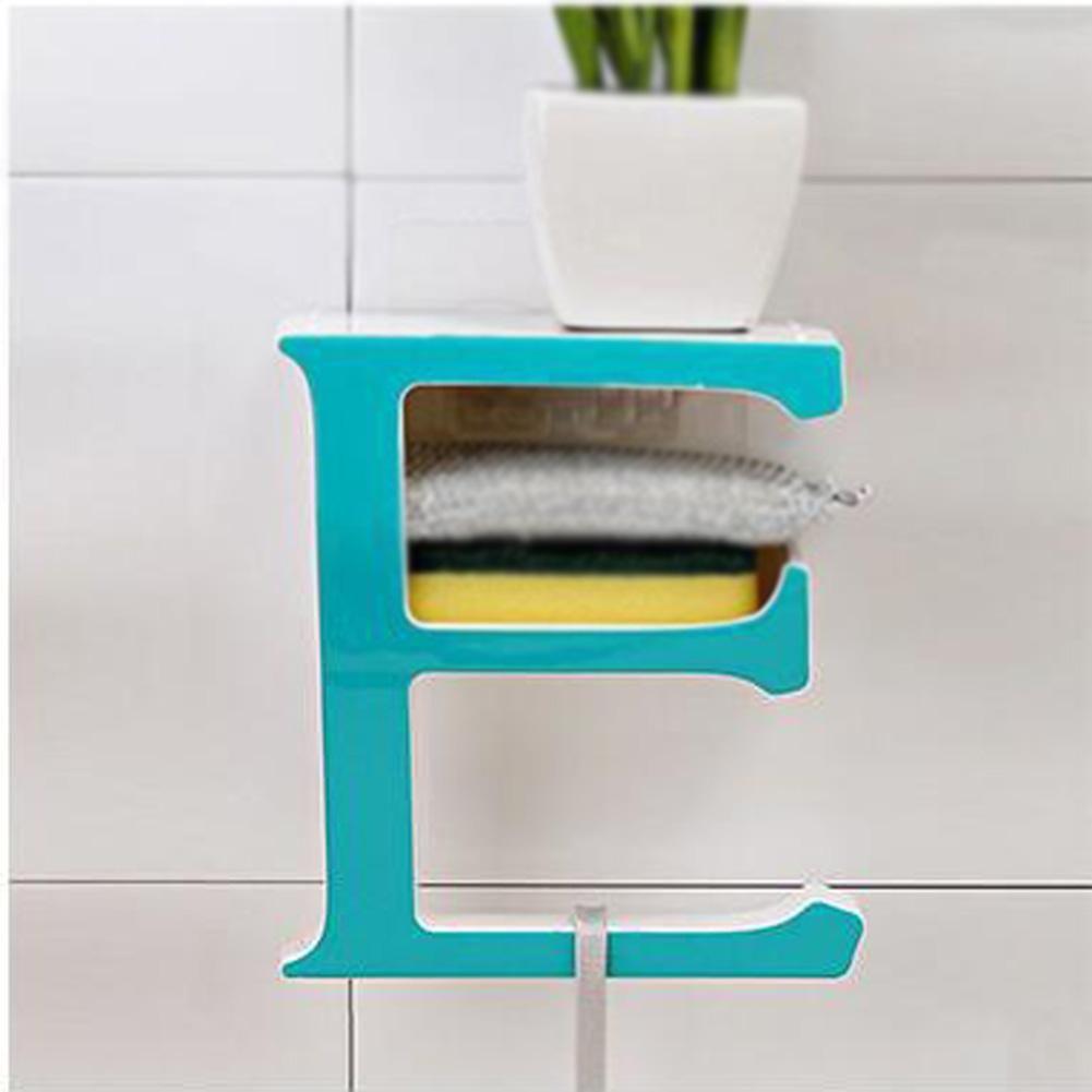 Creative Letter E Plastic Soap Box Bathroom Non-trace Shelf for ...