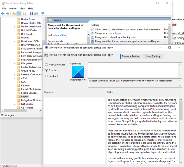 Group Policy Optimization Windows Server Group Policy