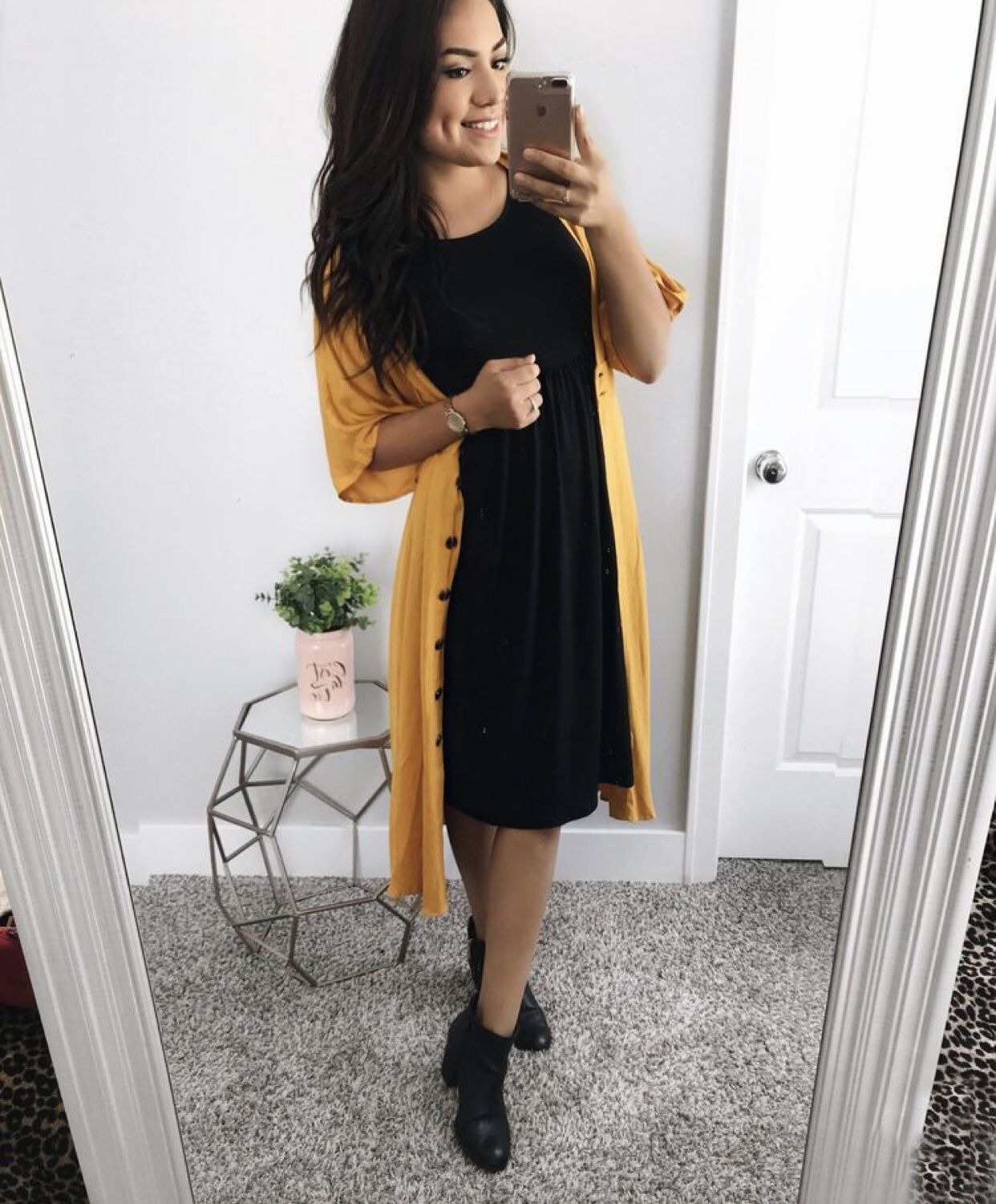 Pin Spired Thrifted Outfits September Rachel S Crafted Life September Outfits Church Outfit Casual Fall Dress Outfit [ 1501 x 1242 Pixel ]