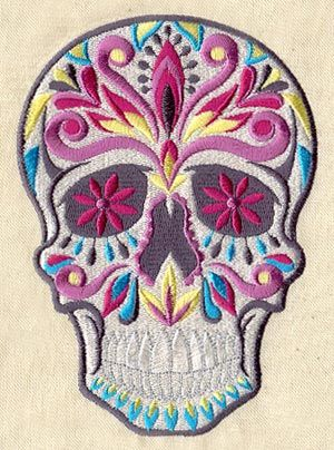 Dia De Los Muertos Skull Urban Threads Unique And Awesome