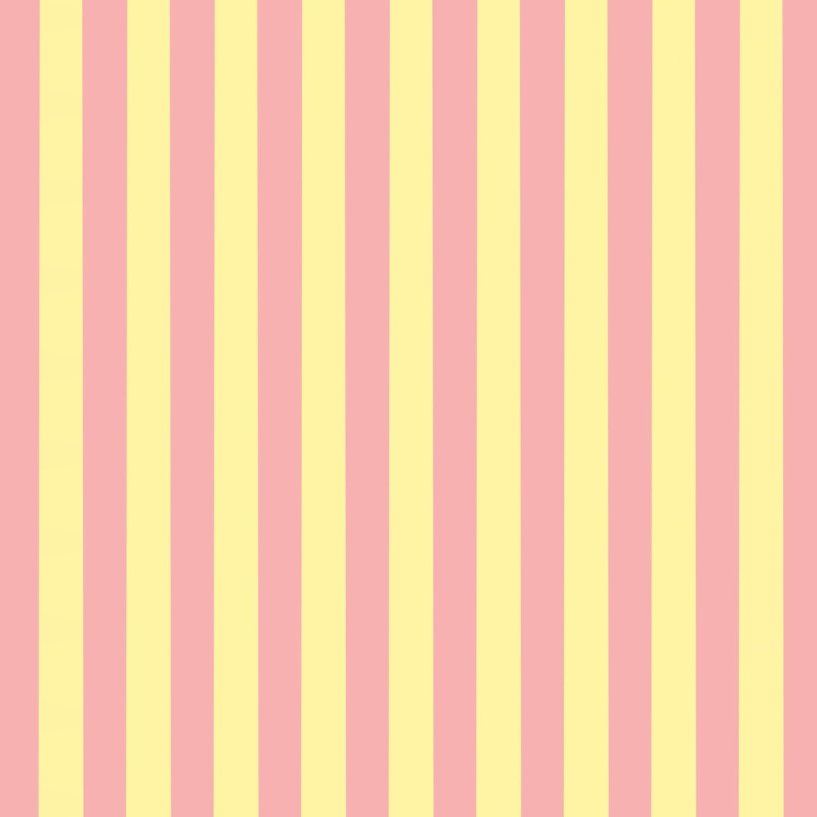 FREE Digital Scrapbook Paper - Pink and Yellow Stripes ...