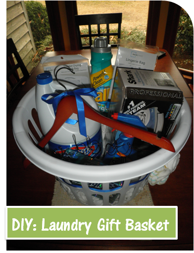DIY Laundry Gift Basket Wonderful Graduation Present