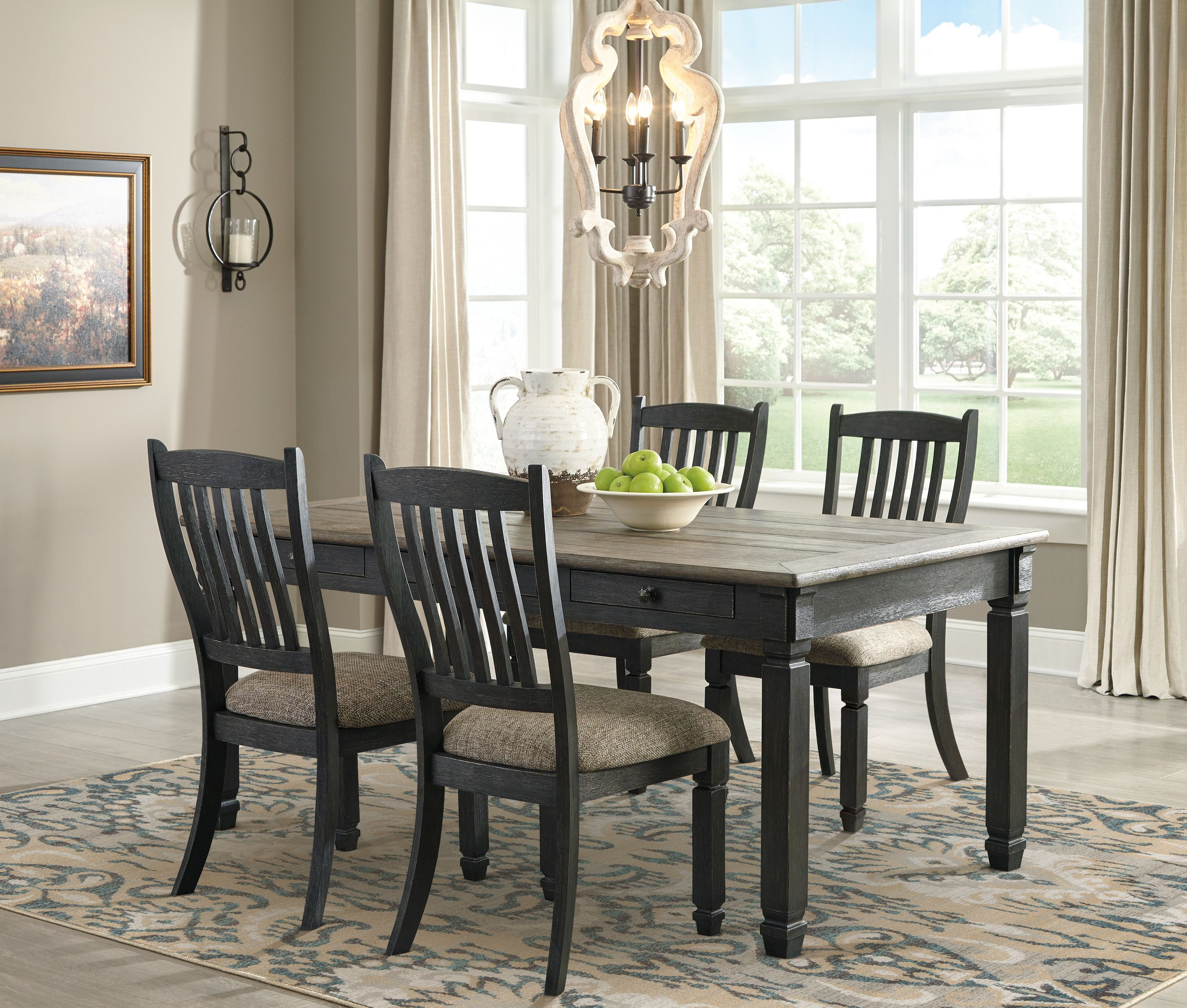 Tyler Creek 5 Piece Dining Room Rectangular dining room