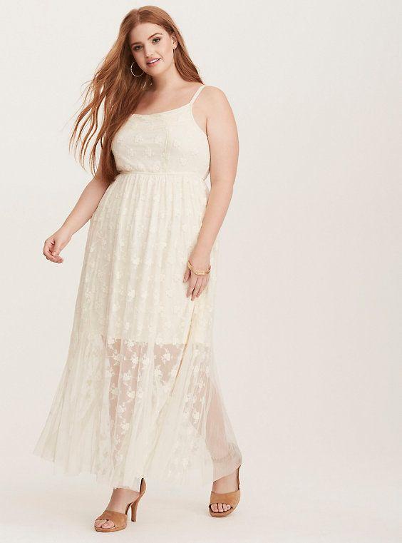 Mixed Lace Maxi Dress Pinterest