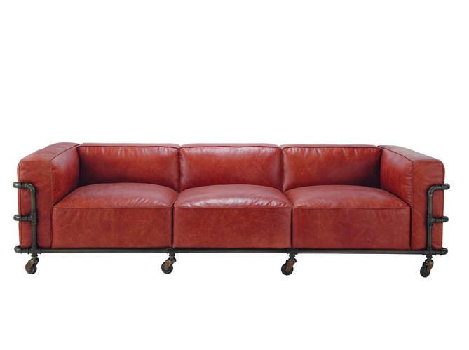 Soyez Hipster Dans Votre Interieur Canape Vintage Canape Cuir Canape Style Industriel
