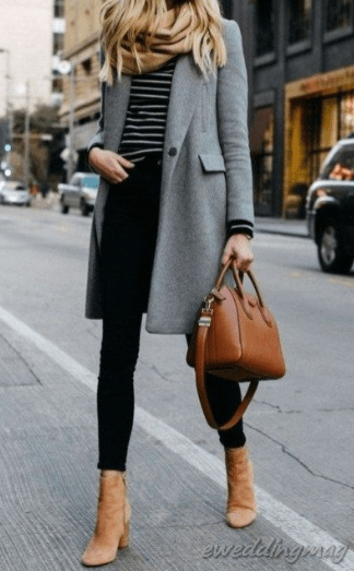 15 Classy Woman Winter Work Outfits Ideas