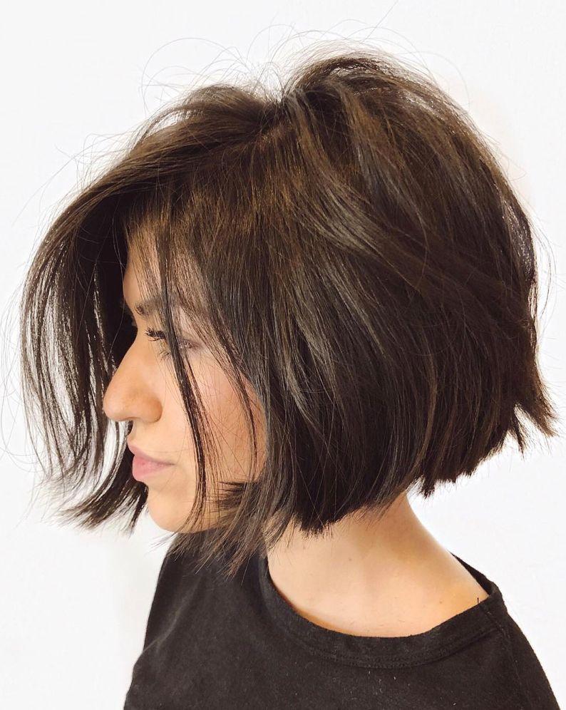 14+ Choppy bob thick hair ideas