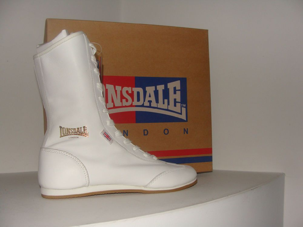 Details About Newlonsdale Boxing Boots Womens Color White