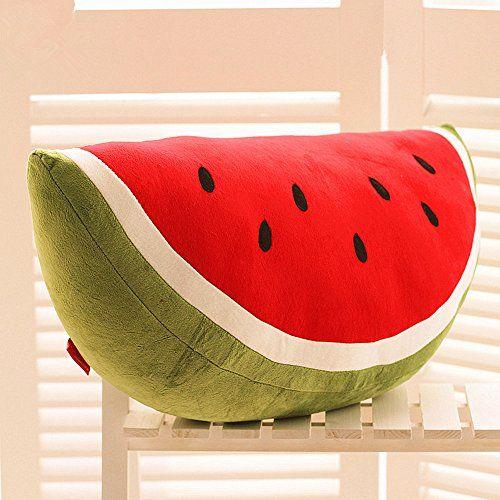 Crazysell Kawaii Wassermelone Obst Kissen Plusch Gefullt Fruchte