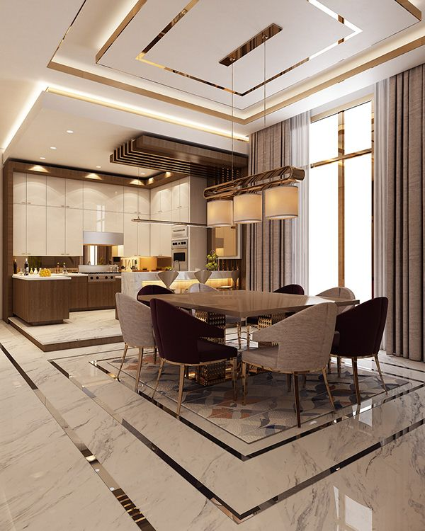 Luxury Modern Villa - Qatar On Behance