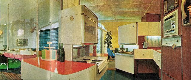 Monsanto Home Of The Future Kitchen Future House House Of