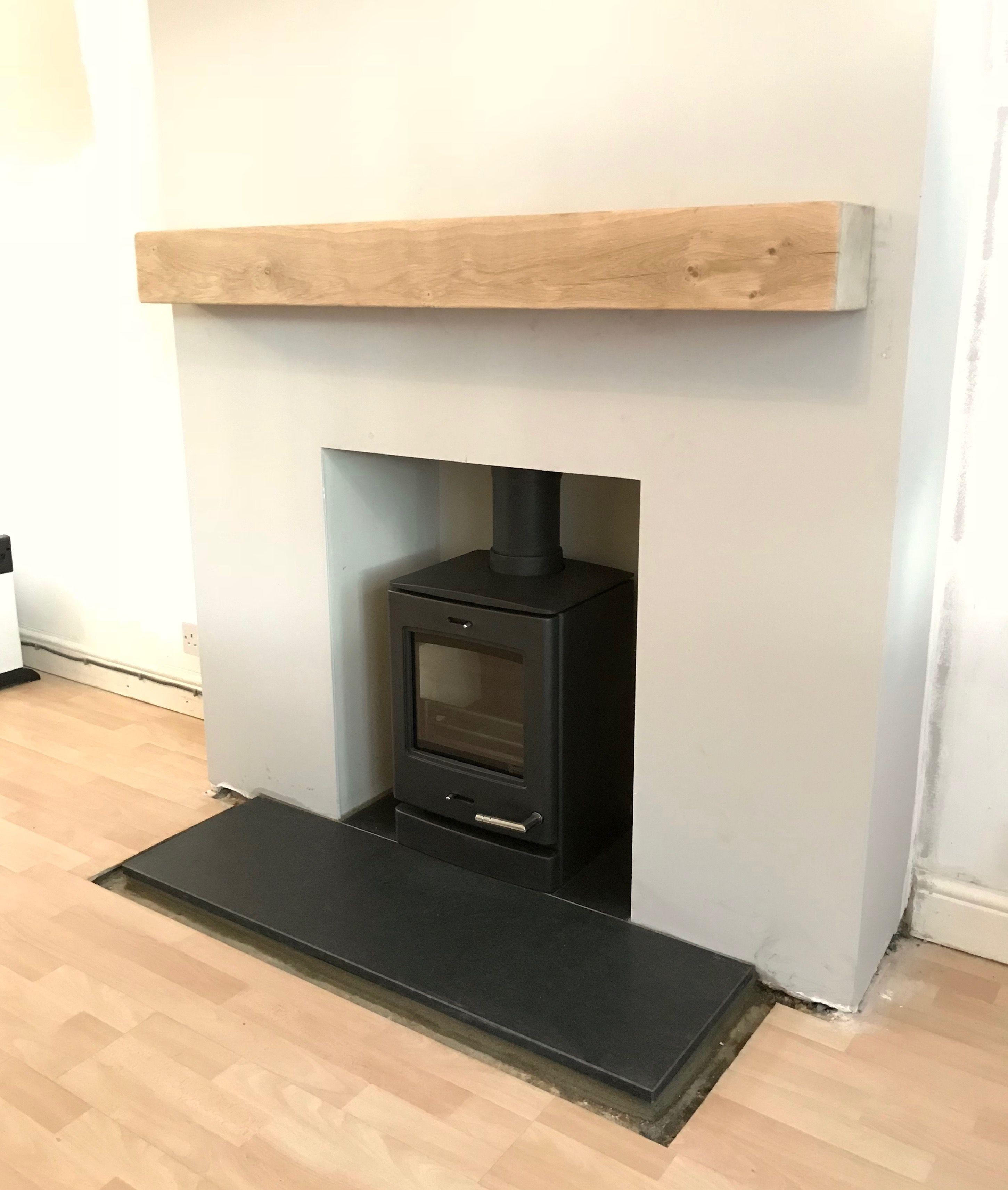 yeoman cl3 multifuel stove antiqued granite hearth solid oak beam