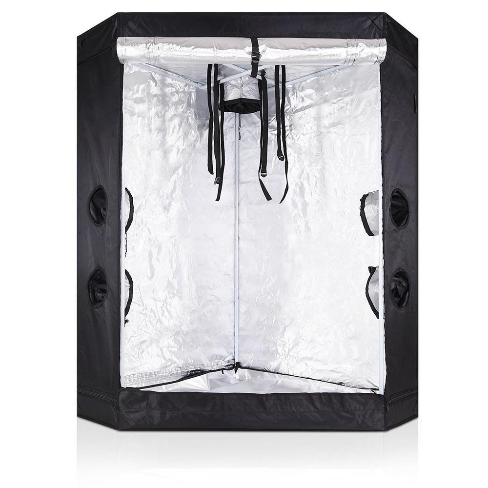 LAGarden™ 3x3x5 ft Hydroponics Reflective Mylar Corner Grow Tent  sc 1 st  Pinterest & LAGarden™ 3x3x5 ft Hydroponics Reflective Mylar Corner Grow Tent ...