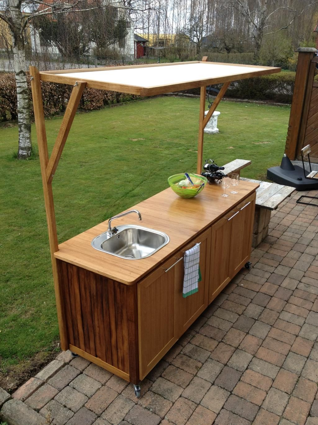 Build Your Own Outdoor Kitchen | Outdoor Kitchen Sink Cabinets With Shades Build Your Own Outdoor