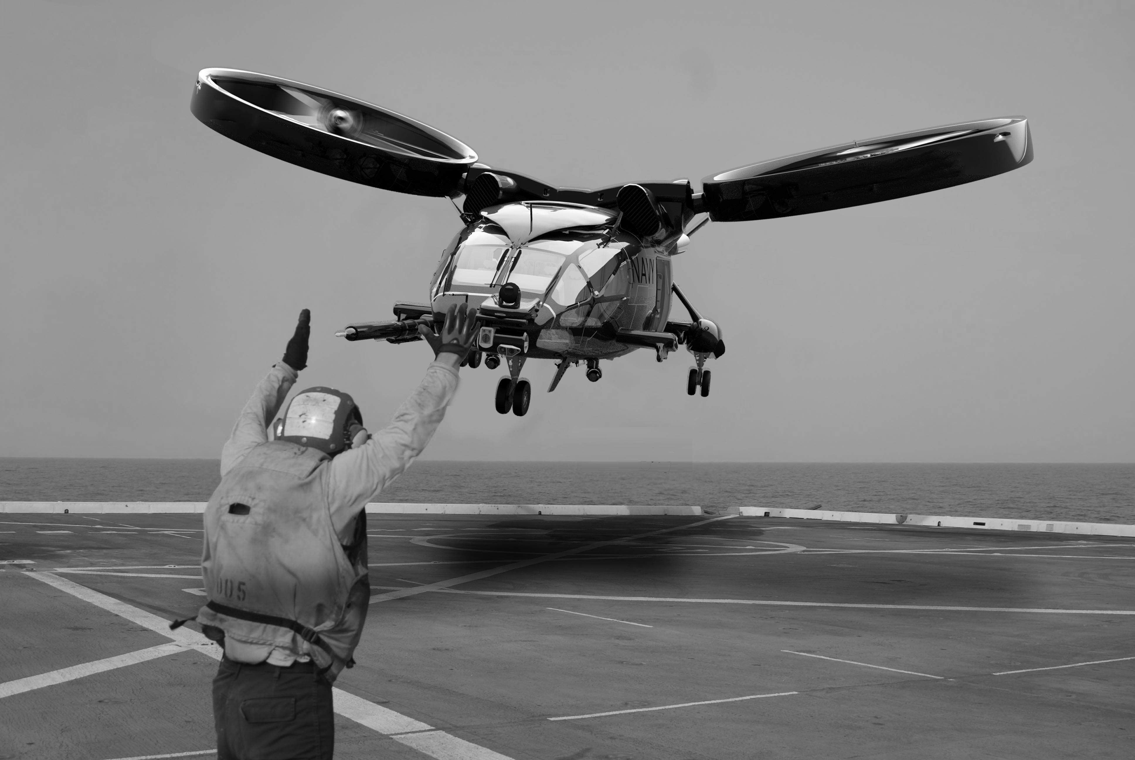 Landing at sea by Liam Keating Força aerea