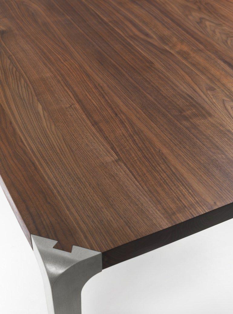 Dining rectangular table SLEEK 2013 - Riva 1920