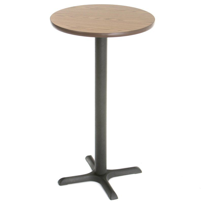Beautiful Black Round Bar Table