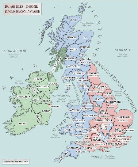 Anglo Saxon invasion of the British Isles History