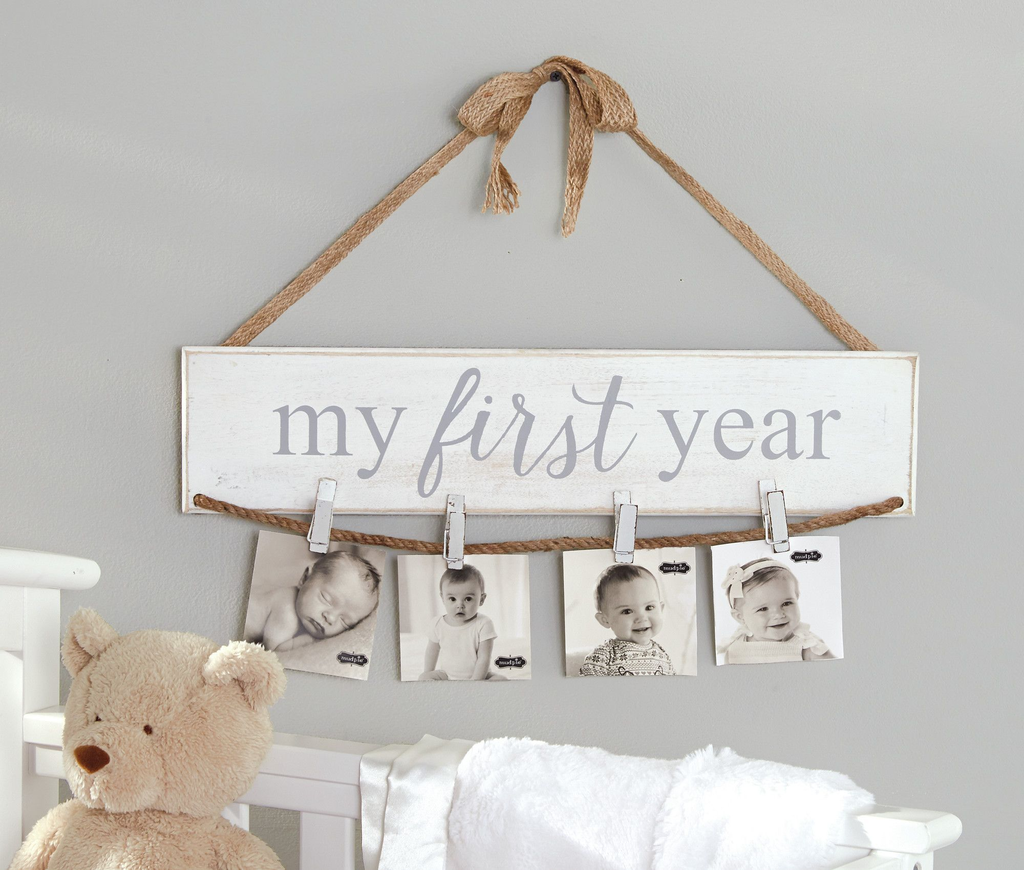 My First Year Photo Holder Picture Frame