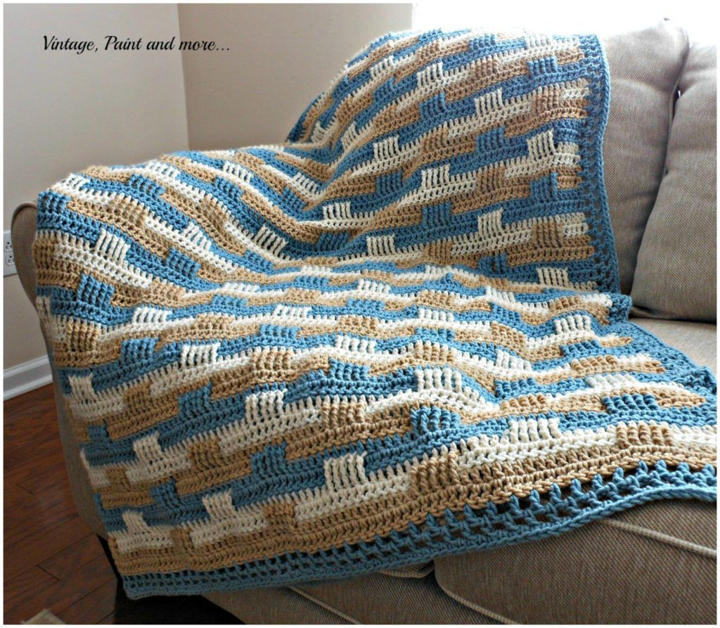 basketweave stitch blanket free pattern naturerelated baby pinterest decken h keln. Black Bedroom Furniture Sets. Home Design Ideas