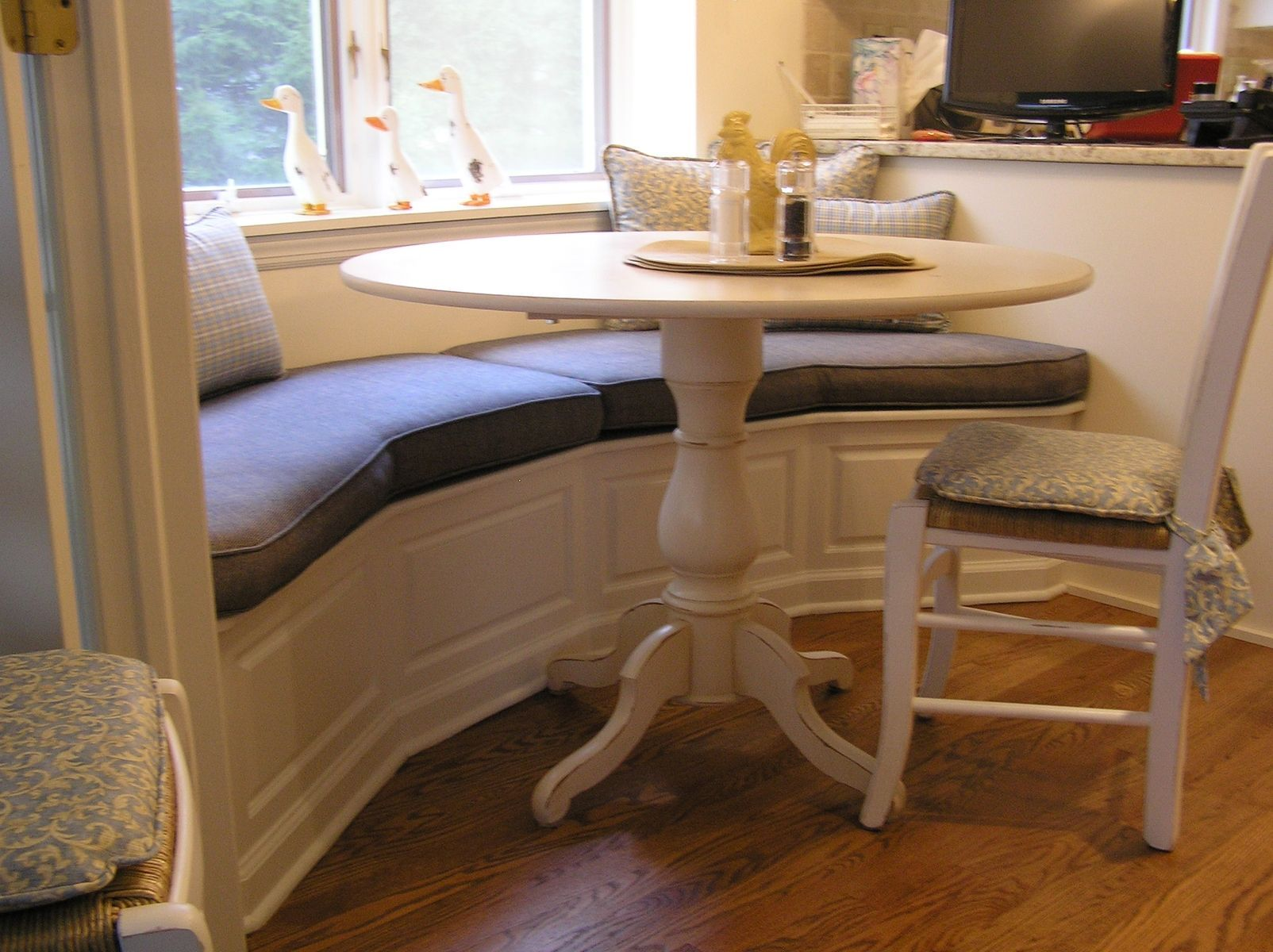 Hand Made Banquette For Kitchen Madison Nj by Cabinetmaker Cabinets
