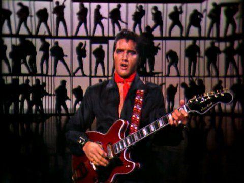 Elvis Presley 1968 Comeback Special Guitar Poster #2