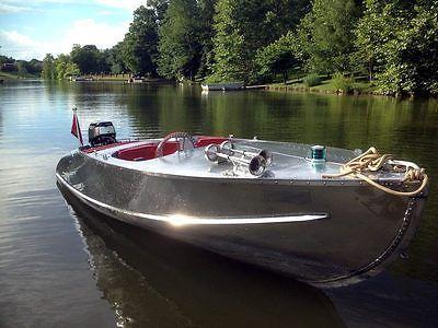 RARE 1956 Feather Craft 15' Vagabond II Vintage Aluminum Boat RESTORED | Boats, Motors ...