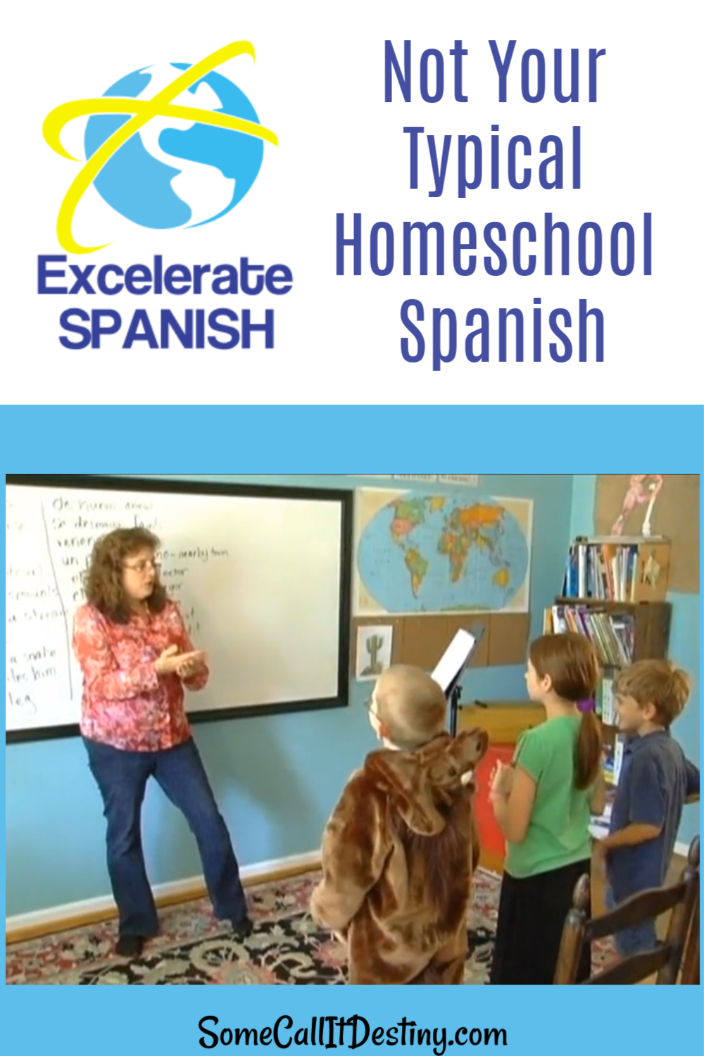 Excelerate Spanish Homeschool Foreign Language Course Excelerate