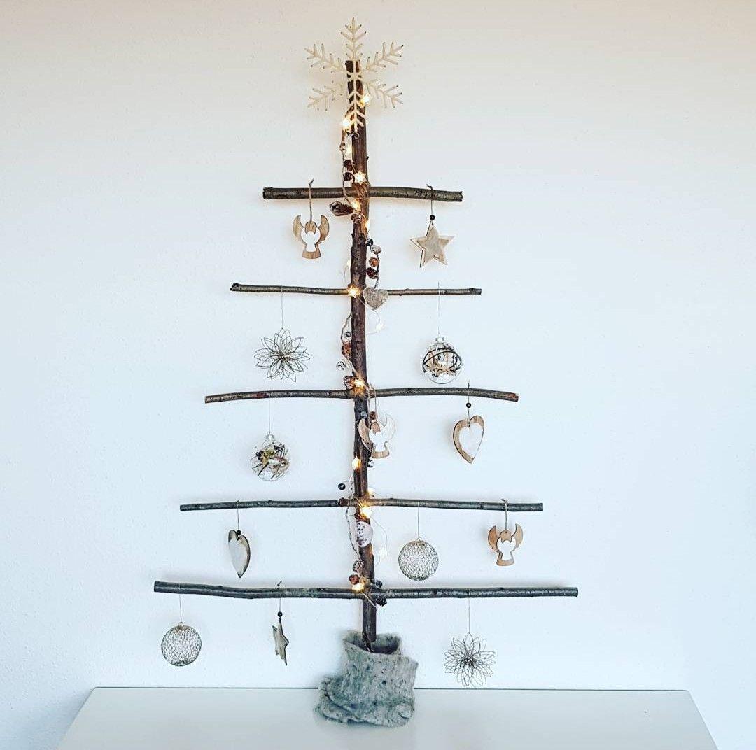 DIY alternative christmas tree | Χριστούγεννα