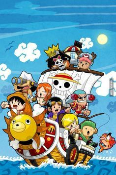 Phone wallpaper one piece