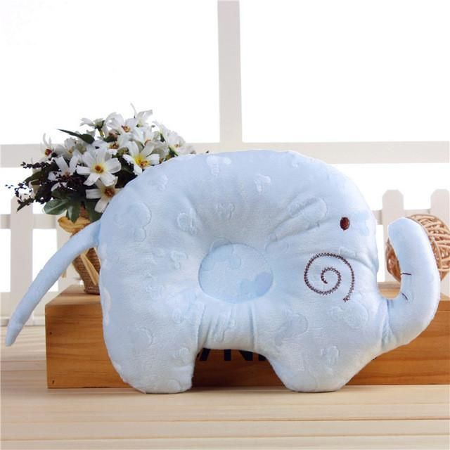 Cotton Soft Elephant Shape Memory Foam Nursing Pillow