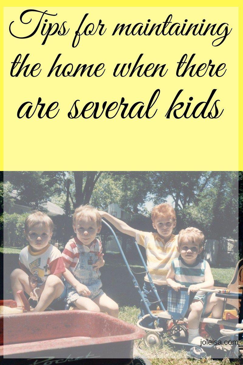 Photo of Einfache Tipps für die Wartung zu Hause, wenn Sie mehrere Kinder haben – Joleisa