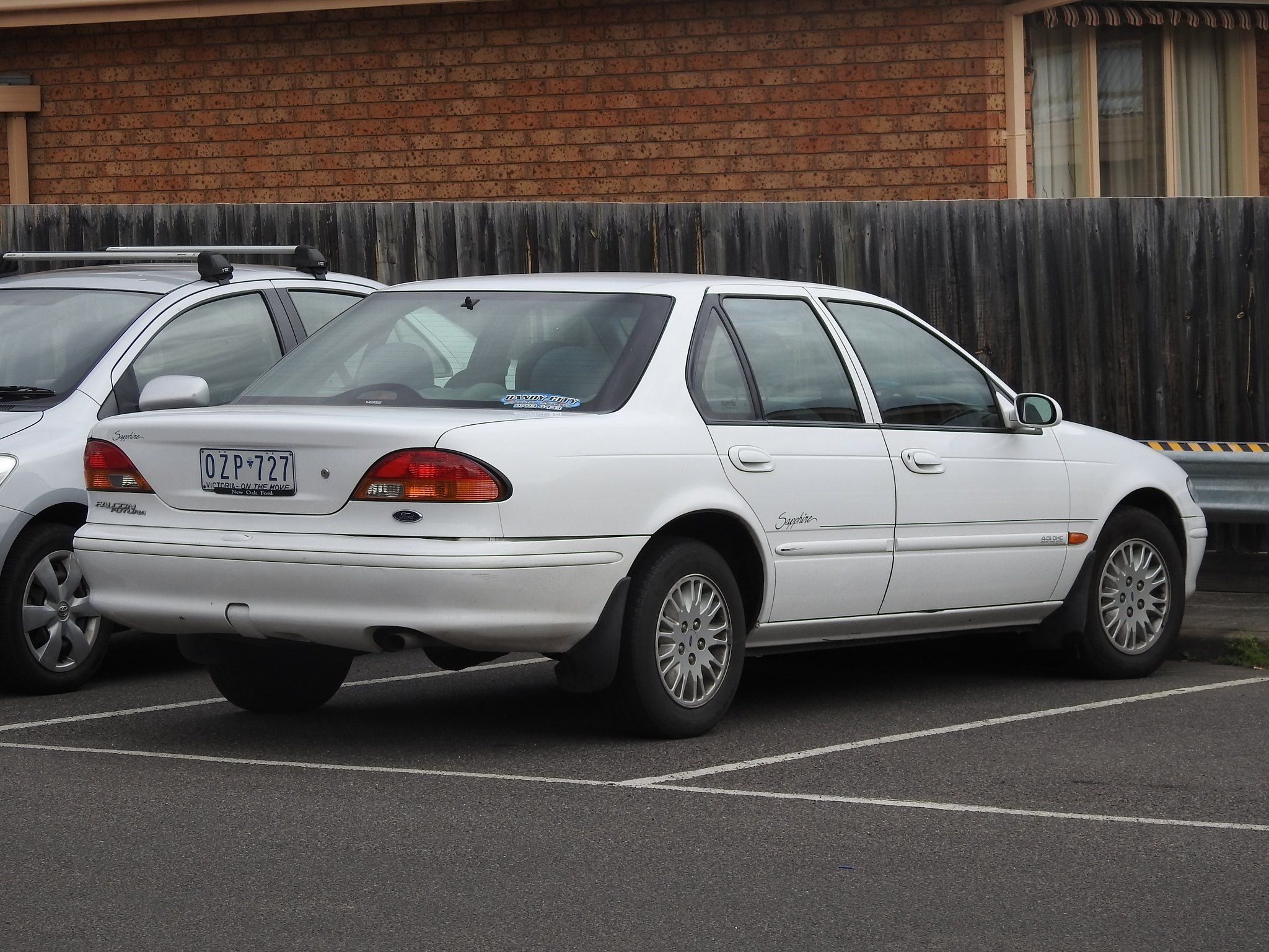 1998 Ford El Falcon Futura Sapphire With Images