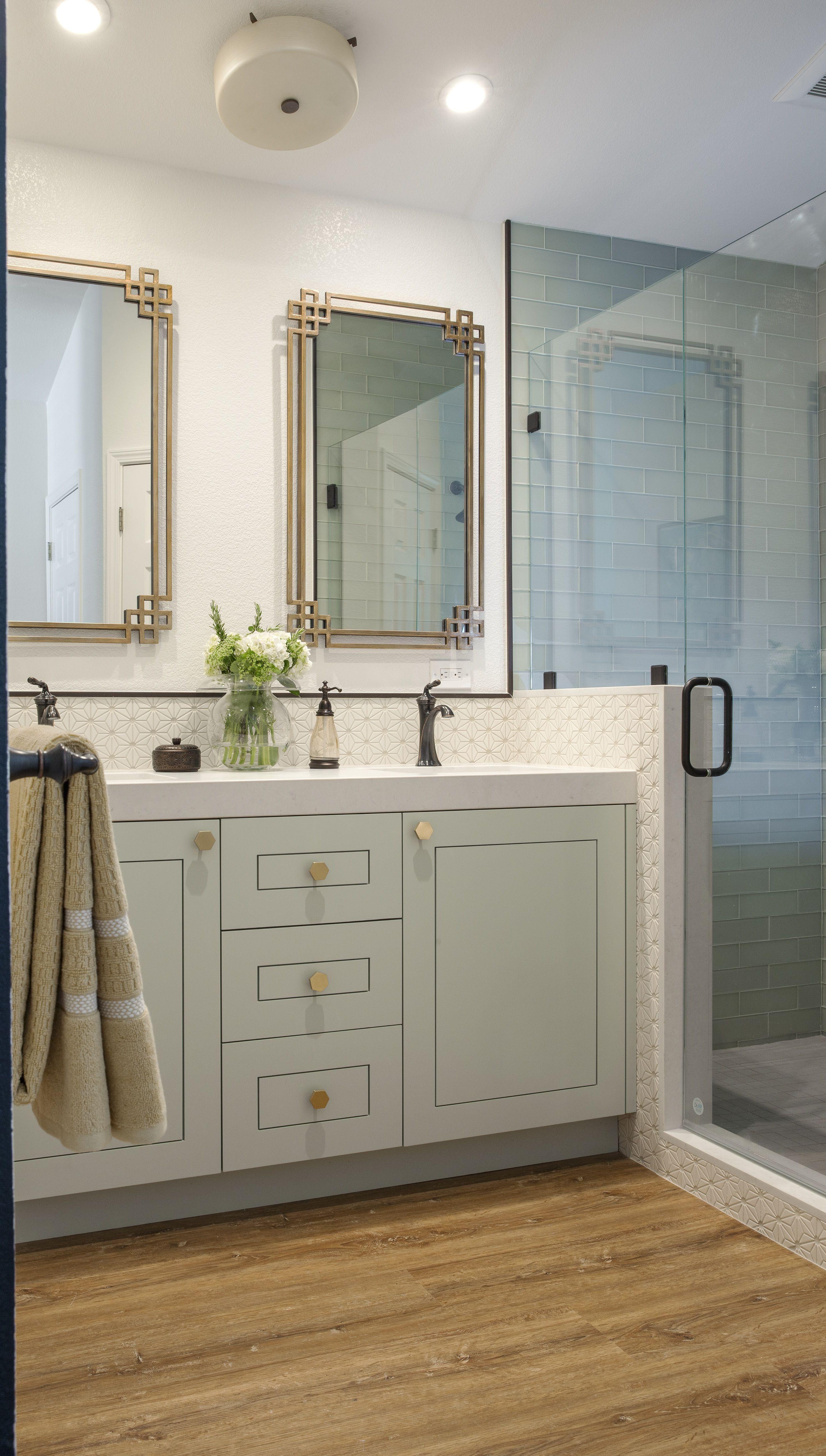 Eclectic Master Bathroom San Jose Countertops Diy Countertops