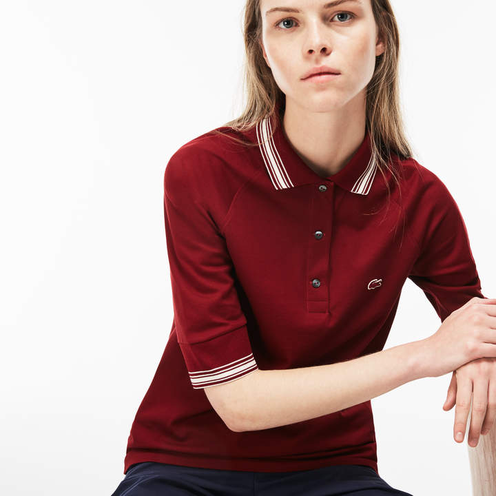 Tommy Hilfiger Heritage Long Sleeve Slim Polo Femme