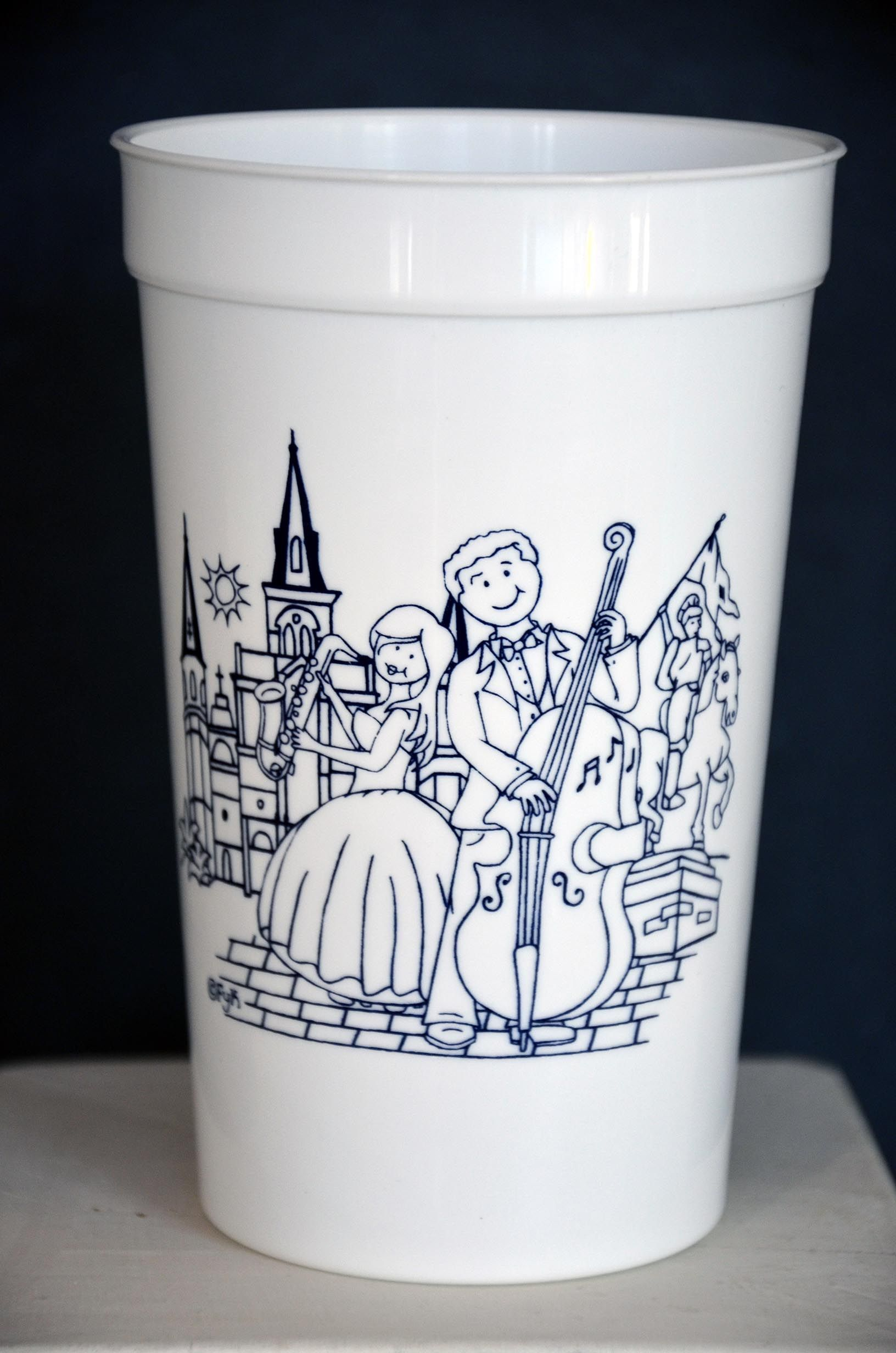 Personalizedstadiumcups are an inexpensive touch to any event ...