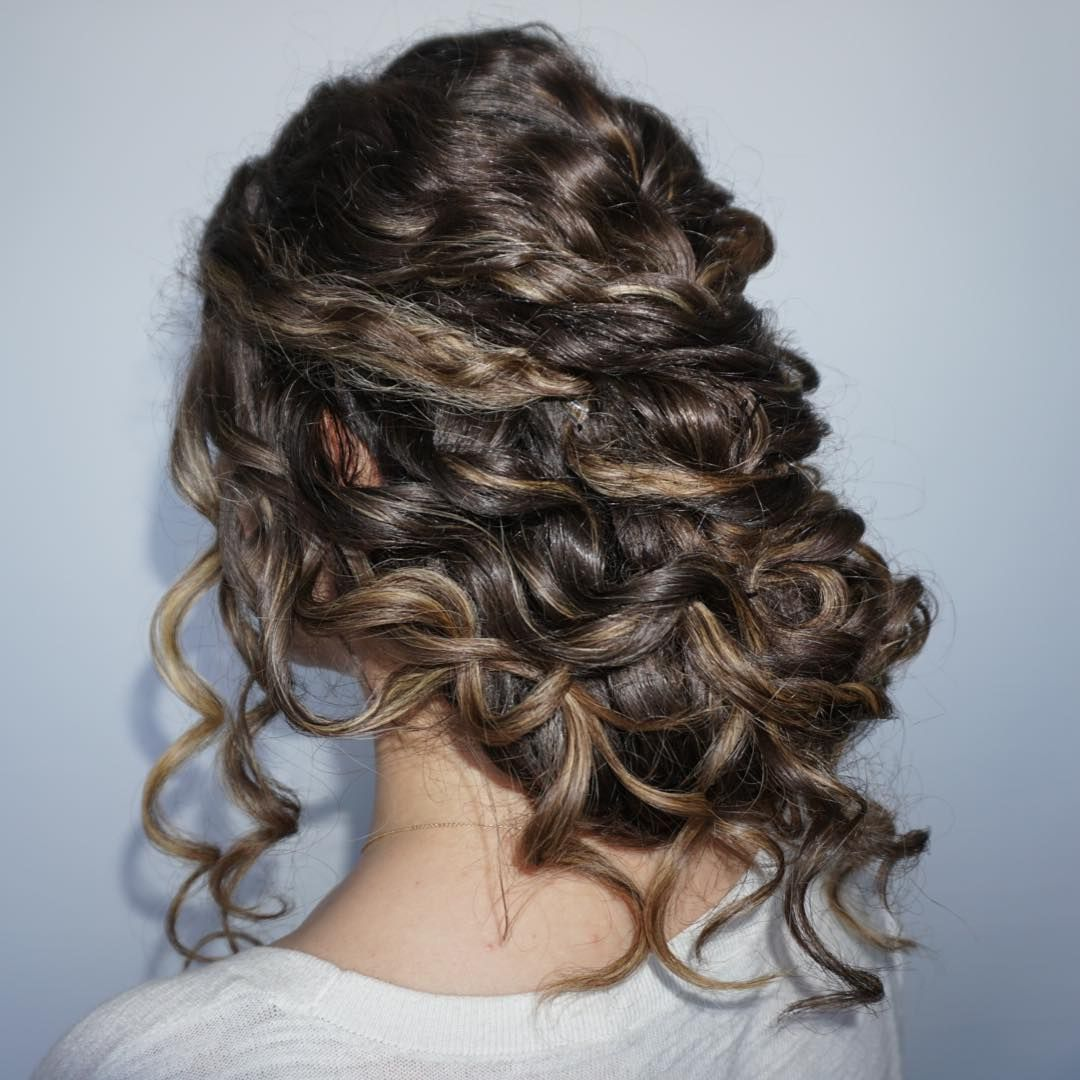 Cool trendiest curly updos of all time be the prettiest