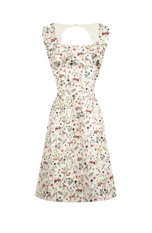 43208896d07e Robe sans manches imprimé fleuri imprime - robes femme - naf ...