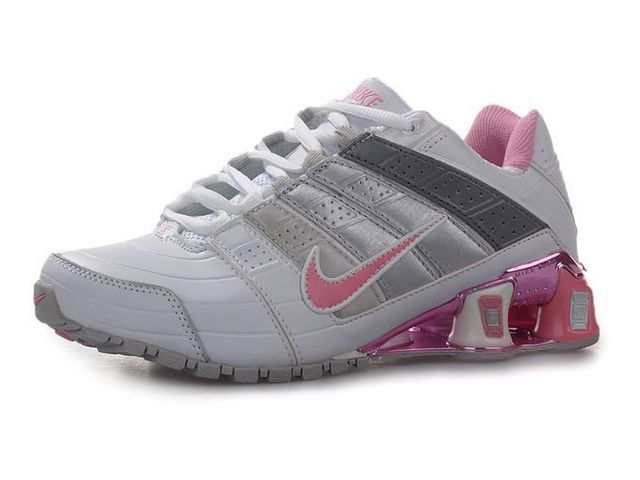 promo code 086e5 71c34 Chaussures Nike Shox NZ Blanc  Gris  Rose  nike 12037  - €50.94   Nike  Chaussure Pas Cher,Nike Blazer and Timerland www.facebook.com .