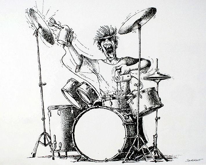 Claude Serre Thrones Drummer