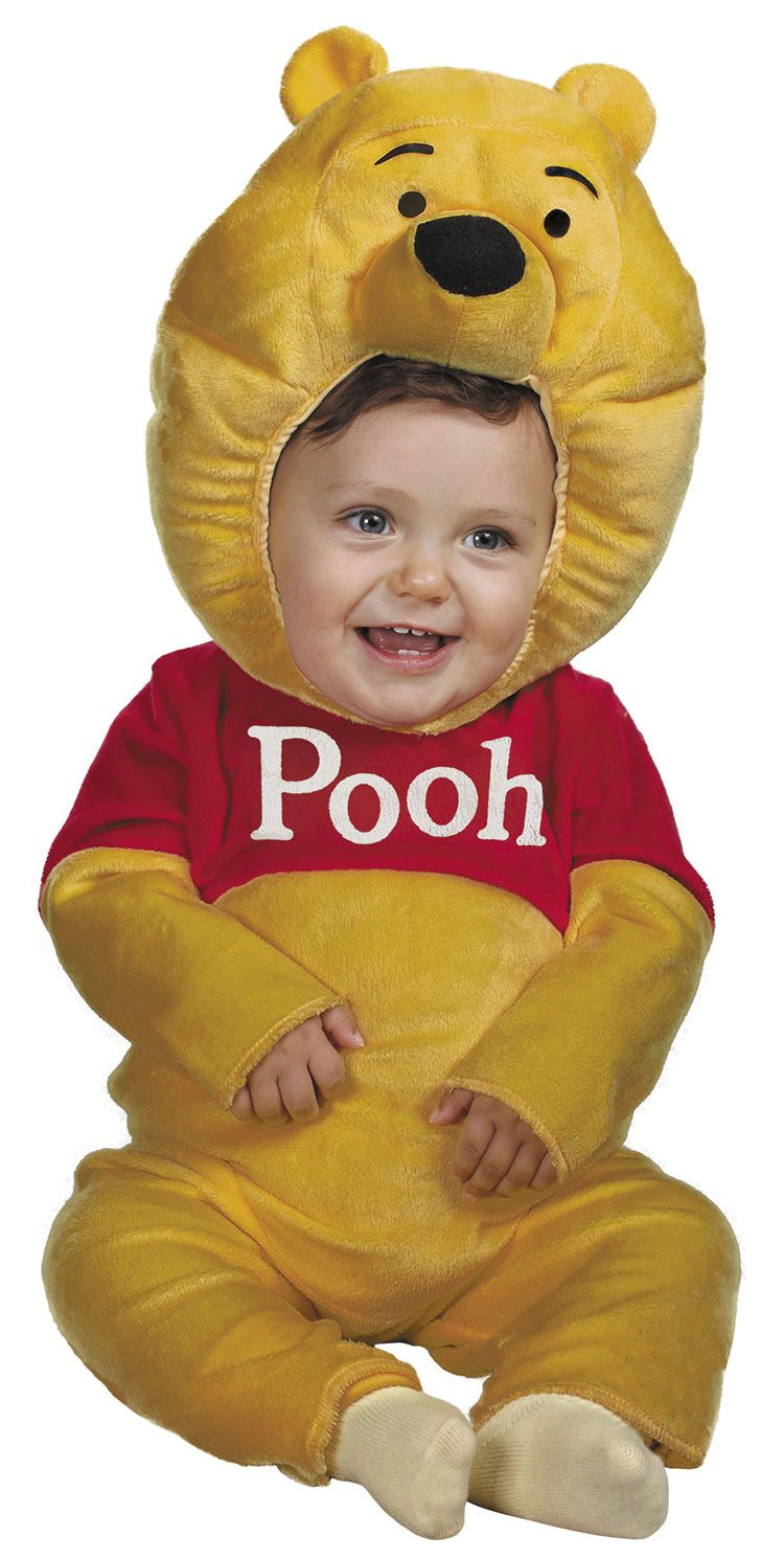 Toddler And Baby Plush Winnie The Pooh Costume - Winnie The Pooh ...