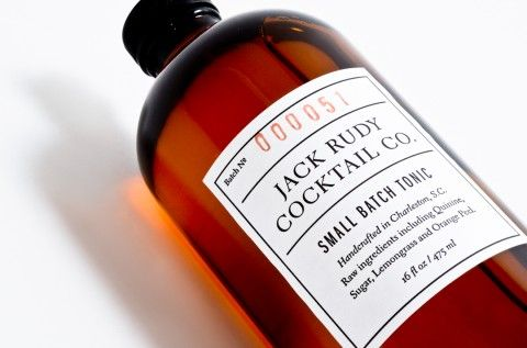 Jack Rudy Cocktail Co. identity and packaging design by Studio Birdsall.