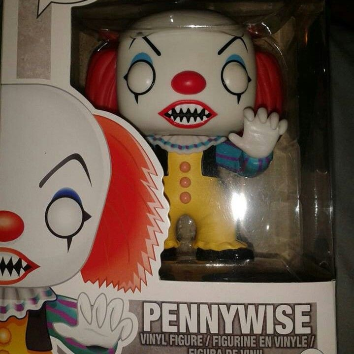 """Funko Pop Horror Movies Pennywise Vinyl Action Figure 3363 Collectible Toy 3.75/"""""""