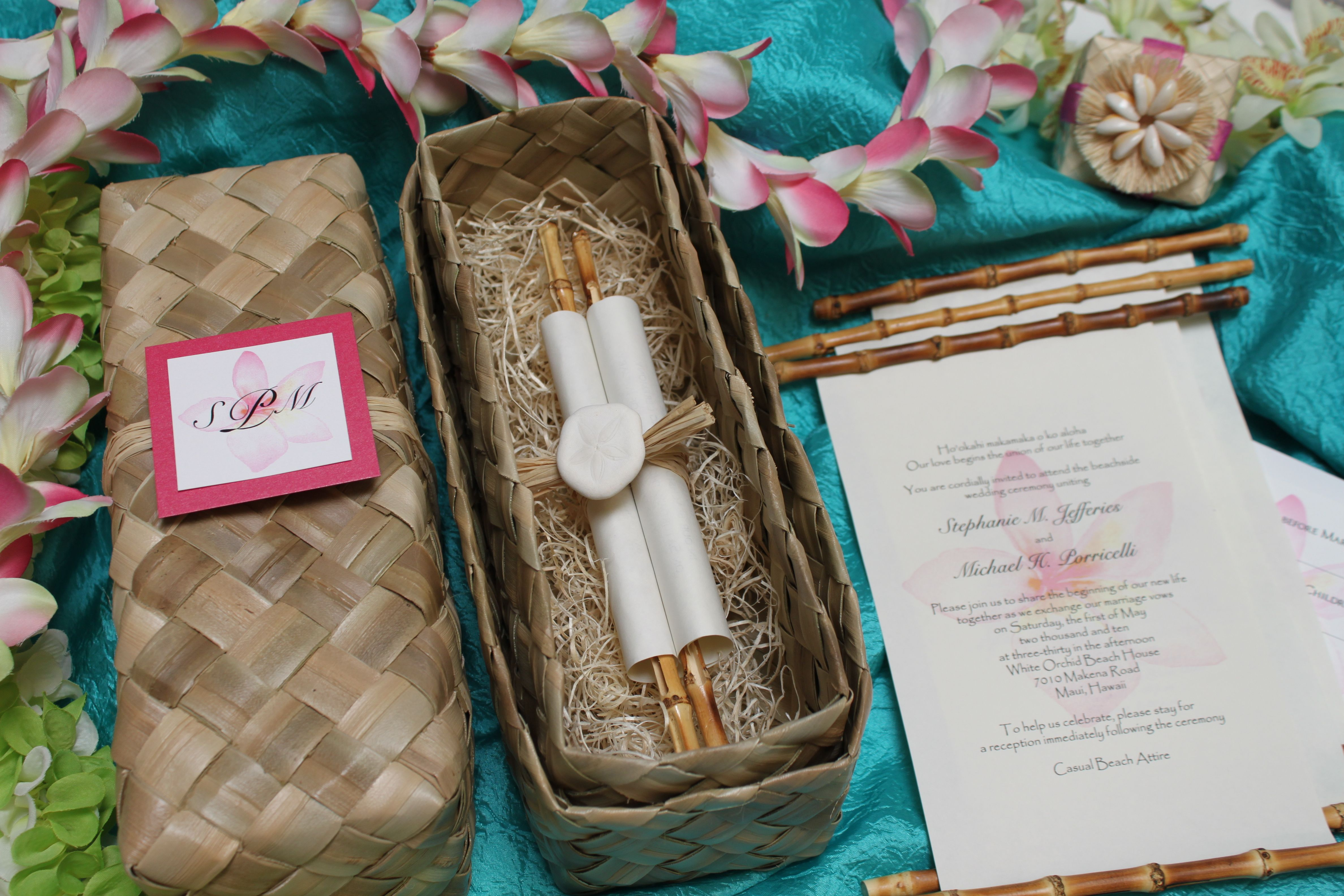 Wow Your Guests With These Unique And Elegant Scroll Invitations