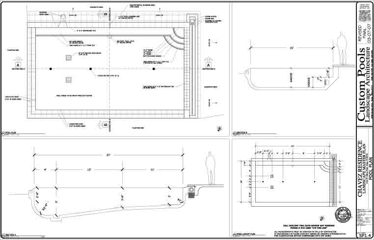 Image For Swimming Pool Design Plans Construction